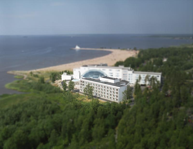 Hotellin laajennus, Oulu