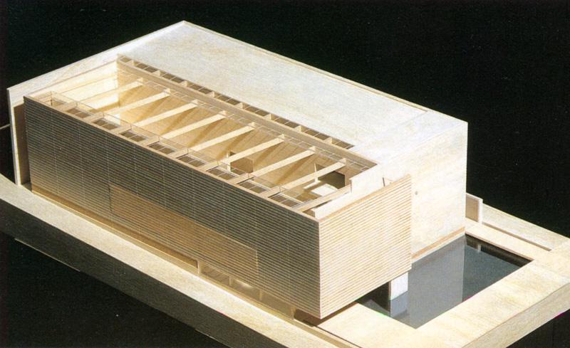 Kilpailuehdotus, Expo Hannover 2000, Suomen paviljonki, Hannover, 2.palkinto