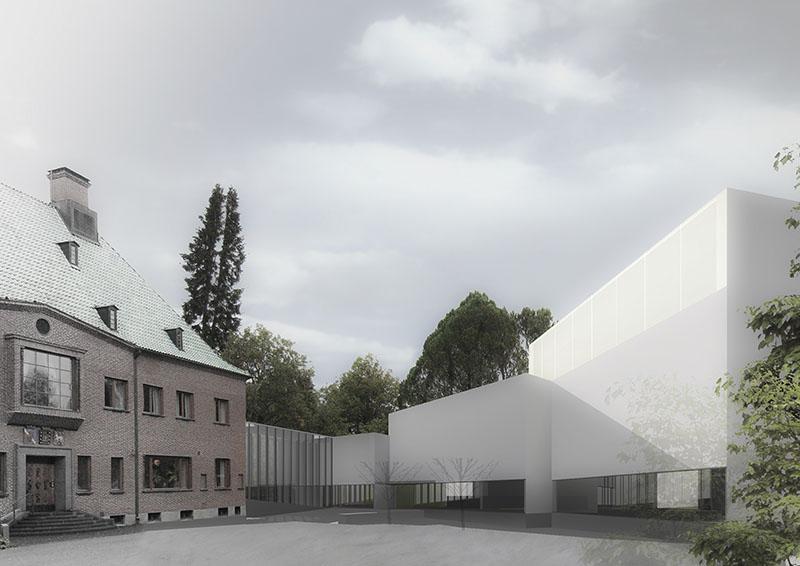 Kilpailuehdotus, Serlachius taidemuseo Göstan laajennus, Mänttä